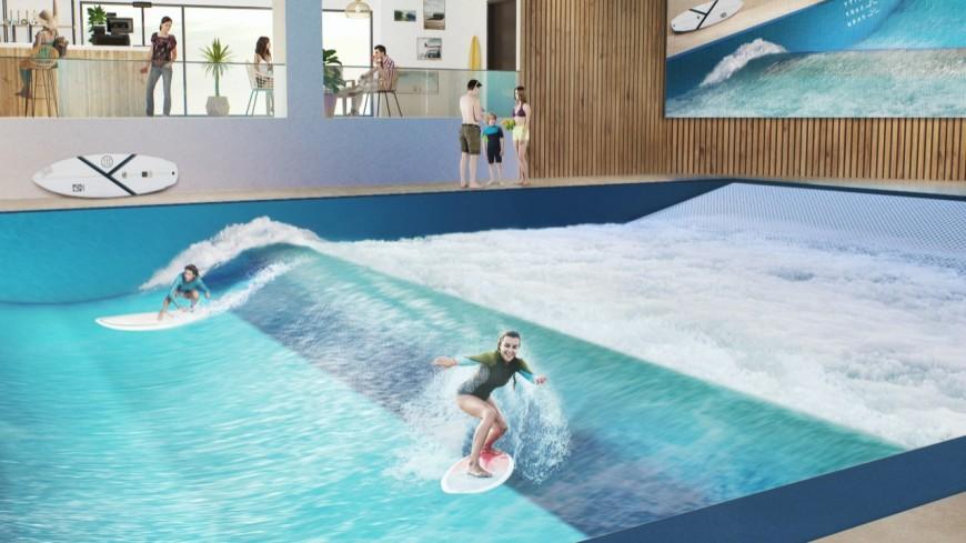 City Surf Park de Lyon : les réservations déjà disponibles