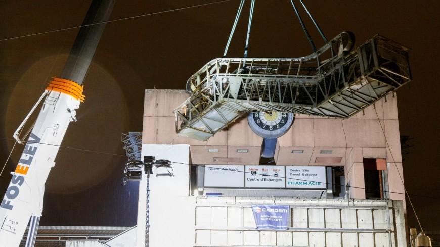Lyon : les emblématiques escalators de Perrache appartiennent désormais au passé