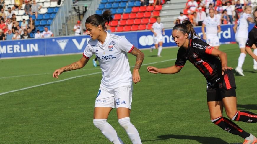 L'OL féminin s'est fait peur, mais s'impose finalement contre Montpellier (2-1)