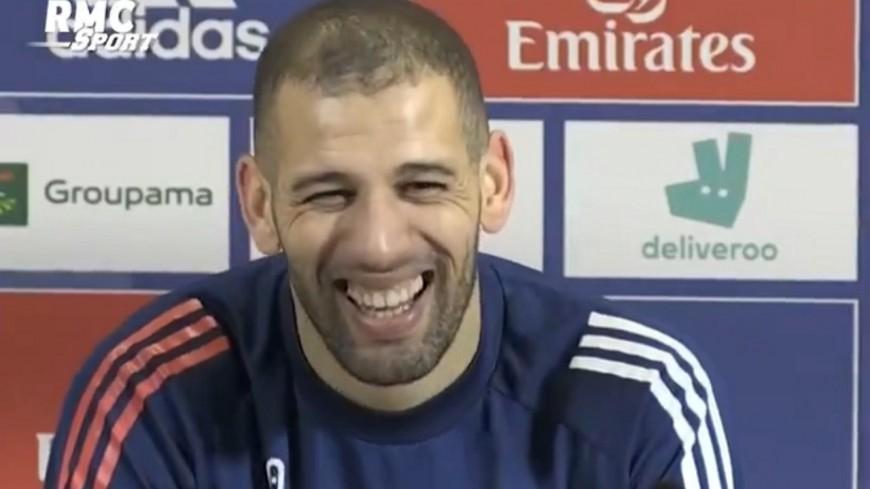 """Islam Slimani (OL) : """"A Lyon, je me sens comme en Algérie"""""""