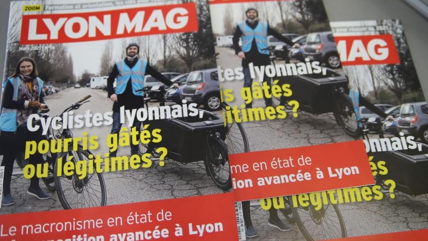 Pourris gâtés ou légitimes ? Les cyclistes lyonnais en Une de LyonMag !