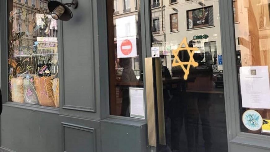 Lyon : un tag antisémite découvert sur un bar dans le 3e arrondissement