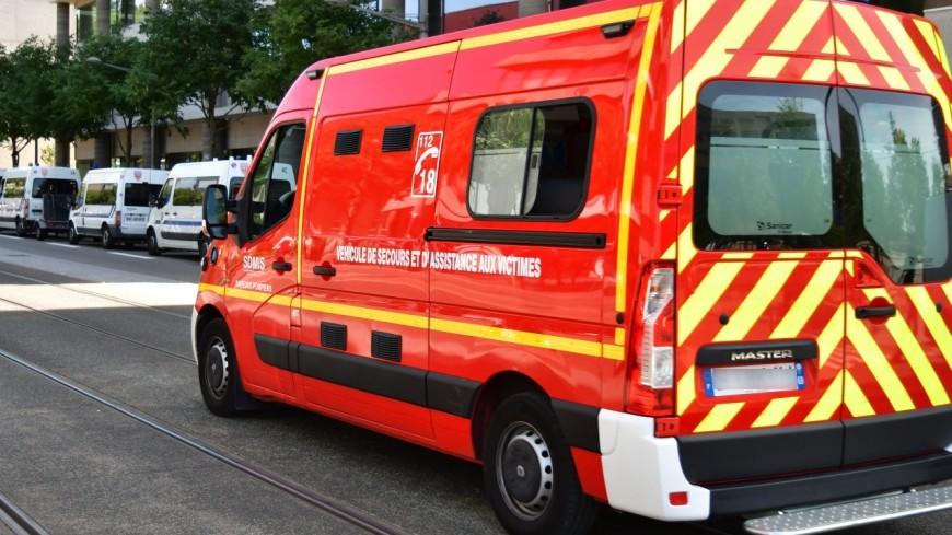 Un blessé grave dans un accident de la route près de Lyon