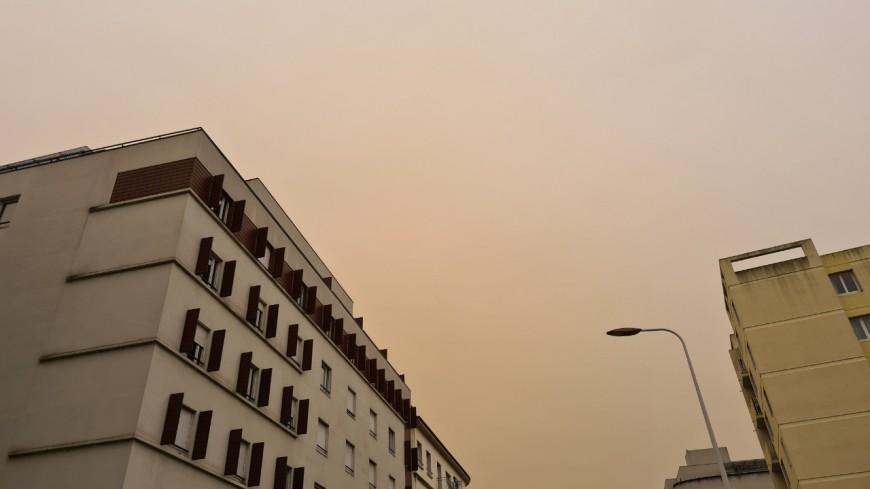 Lyon : vers un troisième nuage de sable du Sahara ?