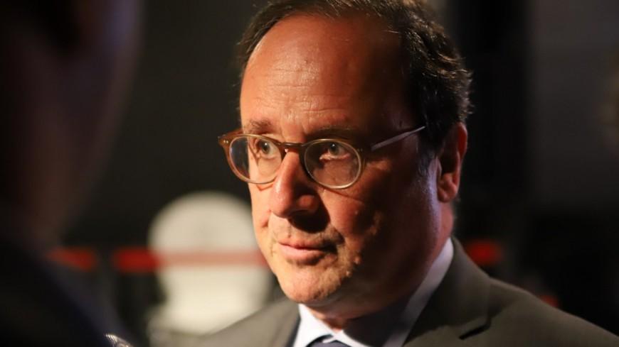 François Hollande en déplacement à Lyon ce mardi