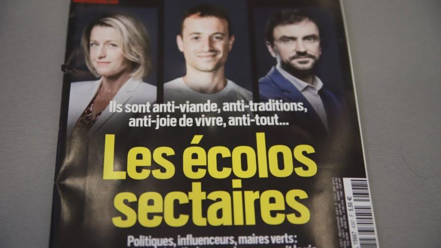"""Le maire de Lyon Grégory Doucet et les """"écolos sectaires"""" en Une de Valeurs Actuelles"""