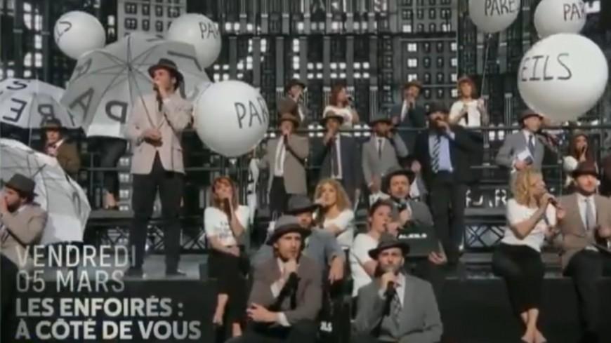 Le concert des Enfoirés enregistré à Lyon est diffusé ce vendredi soir sur TF1