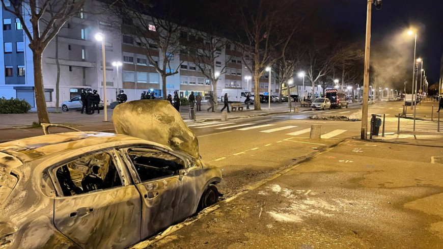 Lyon et Feyzin : de nouvelles violences urbaines ce mercredi soir avec des véhicules incendiés