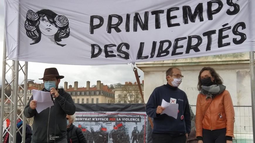 """Loi """"Sécurité globale"""" : seulement 400 manifestants place Bellecour ce samedi"""