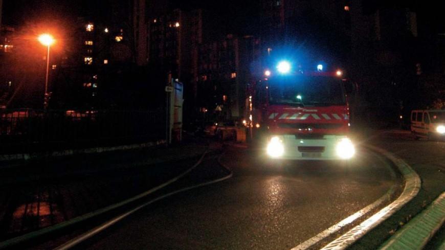 Près de Lyon : une vingtaine de personnes évacuées lors d'un incendie