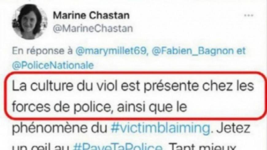 """Lyon : pour son tweet sur """"la culture du viol"""", l'adjointe au maire du 8e visée par une plainte d'Alliance Police"""