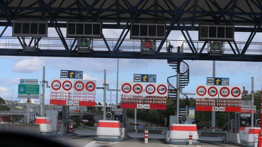 Lyon : le péage du BPNL (TEO) voué à bientôt disparaître ?