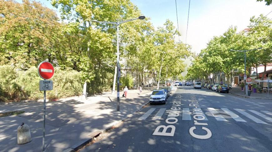 Lyon : le stationnement sur les trottoirs du boulevard de la Croix-Rousse, c'est fini !