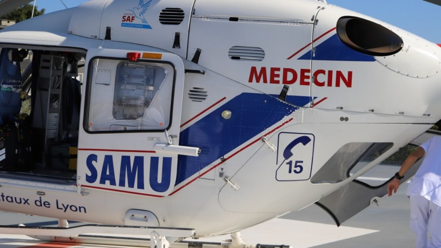 Percuté par une roue de camion, un agent autoroutier hospitalisé à Lyon