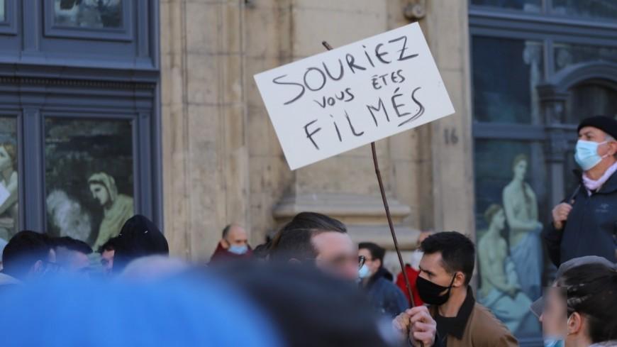 """Villeurbanne : nouvelle mobilisation contre la loi """"Sécurité globale"""""""
