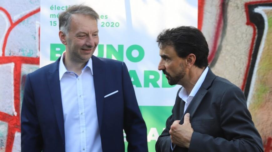 Dans une tribune, Grégory Doucet et Bruno Bernard interpellent le gouvernement sur la publicité en ville