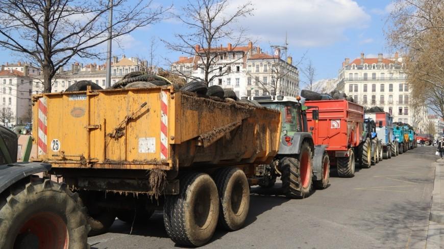 Lyon : les agriculteurs ont obtenu un rendez-vous avec le ministre