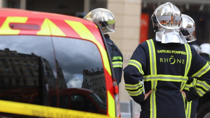 Un incendie se déclare dans une maison près de Lyon