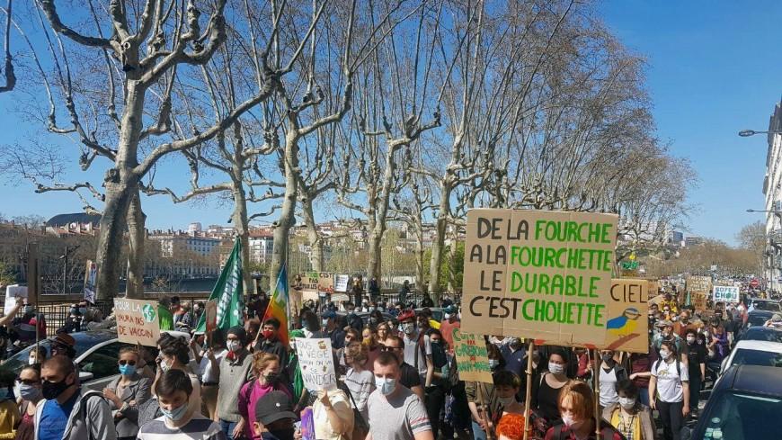 """Lyon : près de 4000 personnes dans la rue pour demander une """"vraie loi climat"""""""