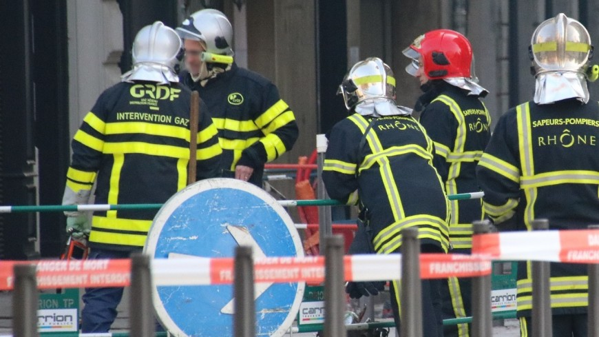 Près de Lyon : une fuite de gaz en cours dans une école