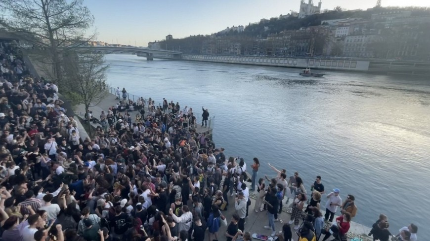 Lyon : que risquent les organisateurs de la fête sauvage sur les quais de Saône ?