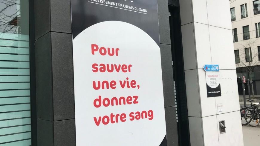 Lyon : l'EFS appelle au don du sang
