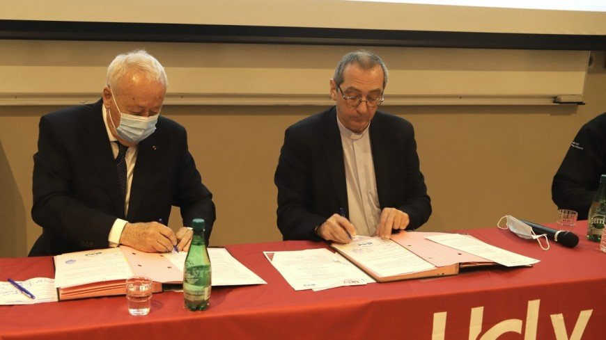 Lyon : l'université catholique s'engage avec l'Entreprise des Possibles d'Alain Mérieux