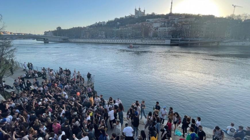 Fête sauvage à Lyon : l'alcool interdit sur une grande partie de la Presqu'île et dans les parcs