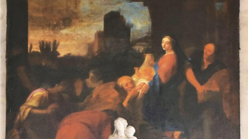 Givors : un tableau perdu de Vivien retrouvé dans l'église
