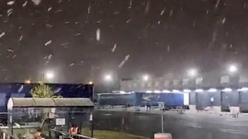 Il a neigé dans la nuit de mardi à mercredi à Lyon !