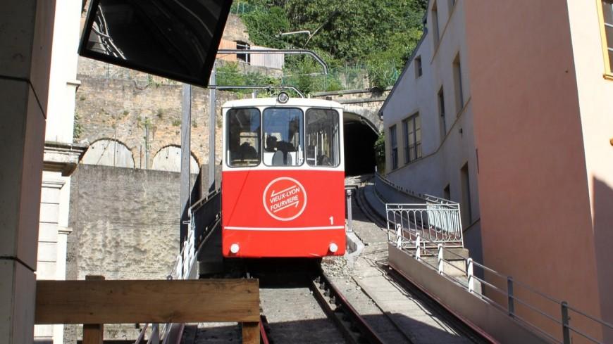 Lyon : le funiculaire bientôt à l'arrêt pour 15 jours