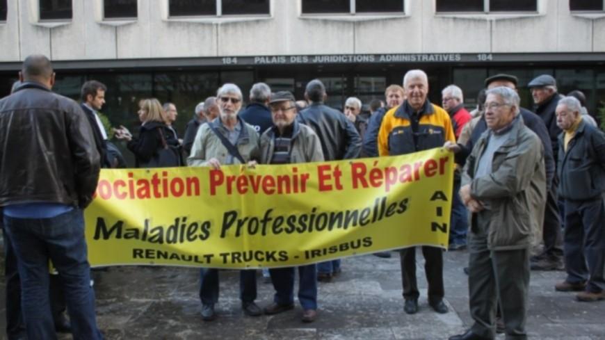 Amiante chez Renault-Trucks : 474 salariés indemnisés sur les 1200 à Lyon