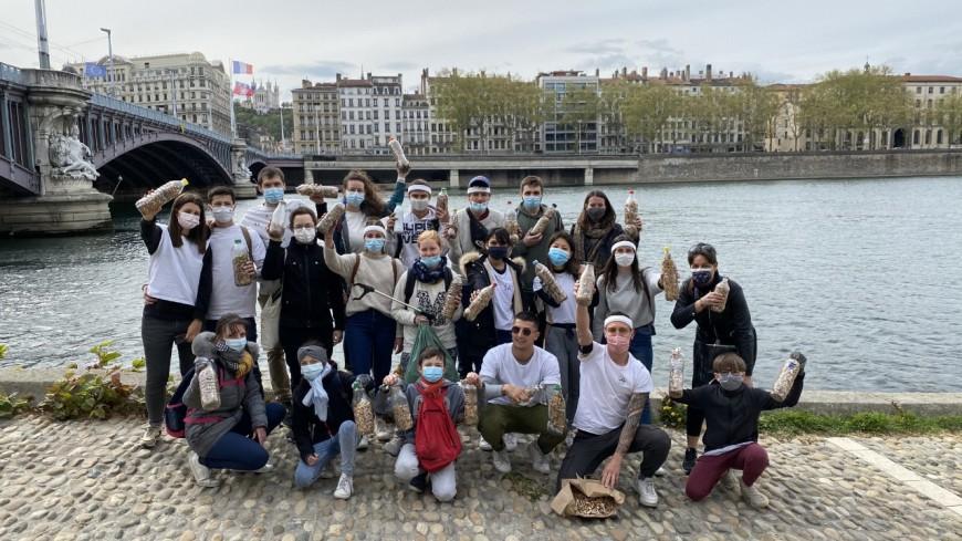 Près de 20 000 mégots ramassés dans les rues de Lyon par l'association Hebdo Ecolo