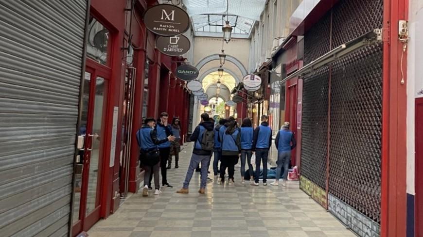 Lyon : quand un nouveau groupe d'extrême-droite se pavane dans les rues de la Presqu'île