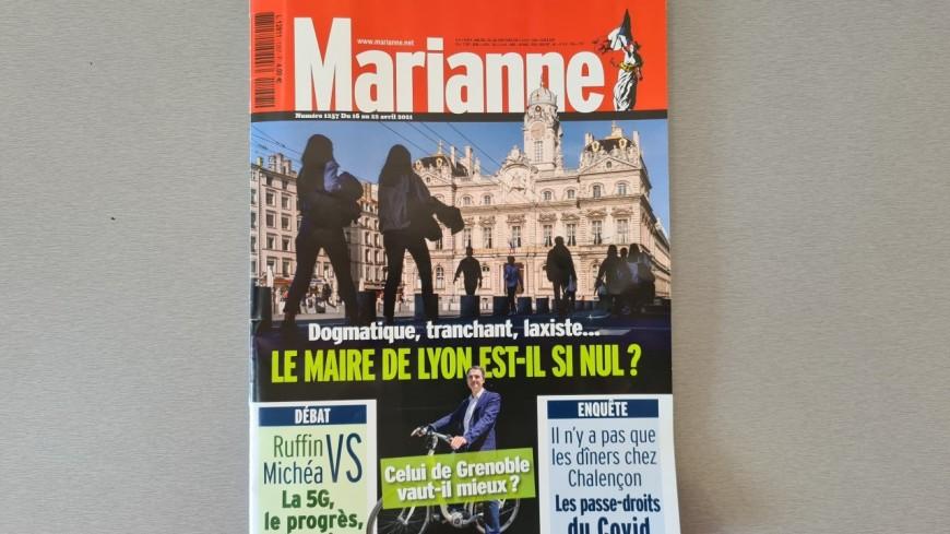 Le maire de Lyon est-il si nul ? La Une choc de Marianne