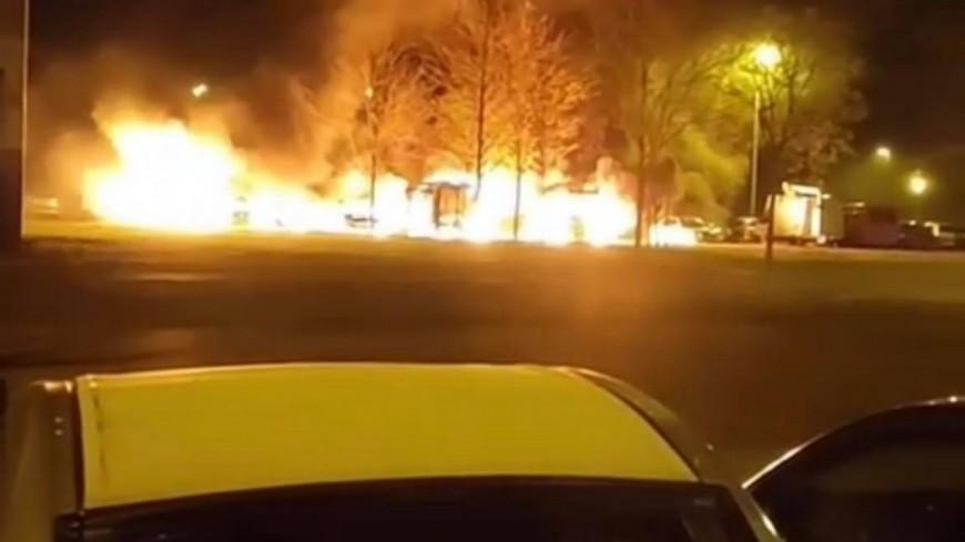 Près de Lyon : une dizaine de véhicules incendiés à Vénissieux