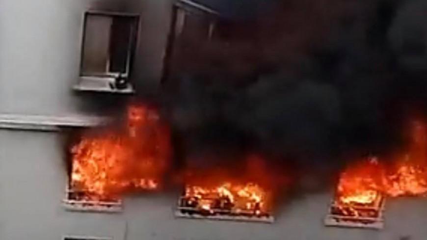 Lyon : un important incendie dans le 8e arrondissement