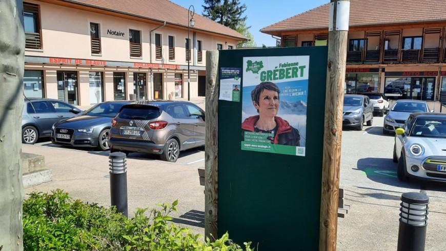 Régionales : une plainte déposée par un maire contre Fabienne Grébert (EELV) et son affichage sauvage