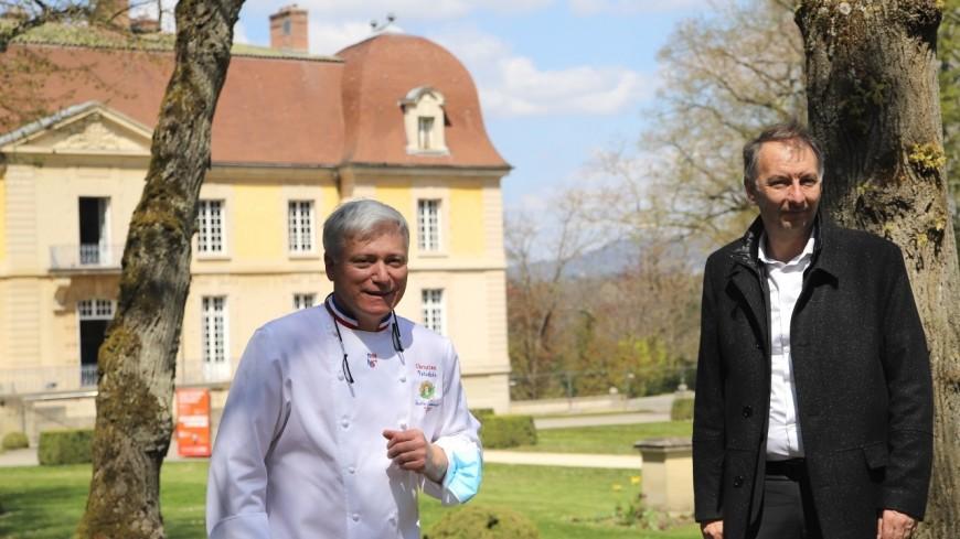 Près de Lyon : le projet de reconversion du château de Lacroix-Laval dévoilé avec le chef Christian Têtedoie