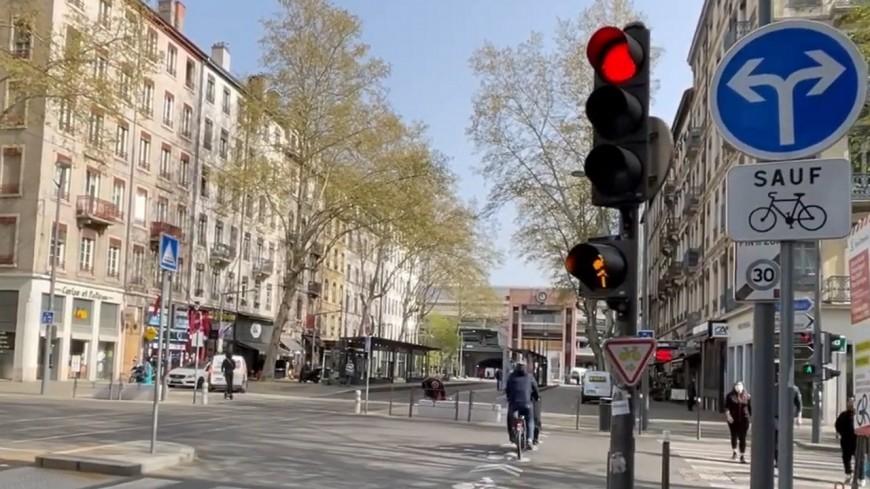 Lyon : un feu innovant pour les vélos expérimenté sur le cours Charlemagne