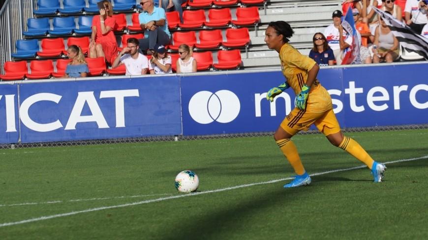 D1 Arkema : l'OL féminin s'impose facilement face à Guingamp (0-5)