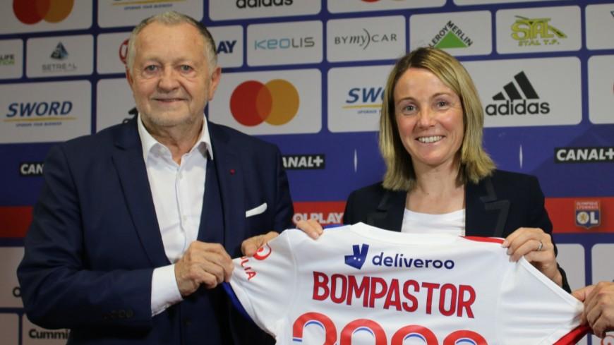"""Sonia Bompastor nommée à la tête de l'OL féminin : """"un retour à l'ADN de l'OL"""""""