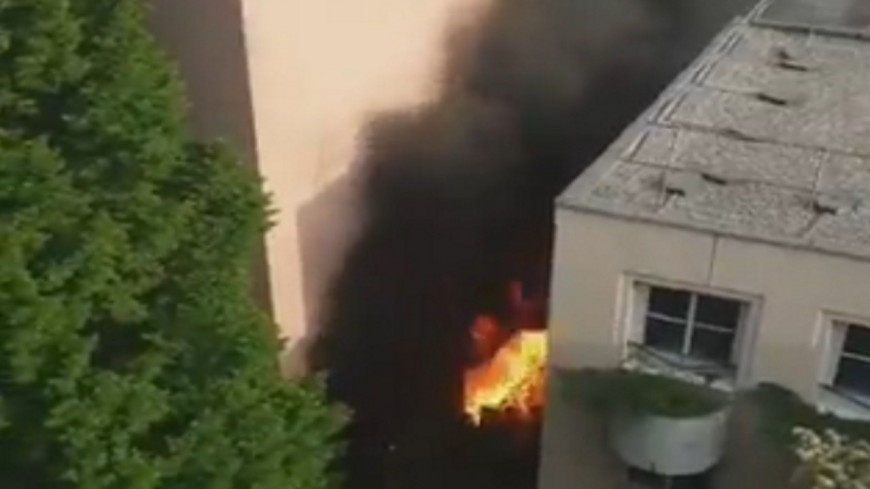 Lyon : violent incendie dans le 7e arrondissement