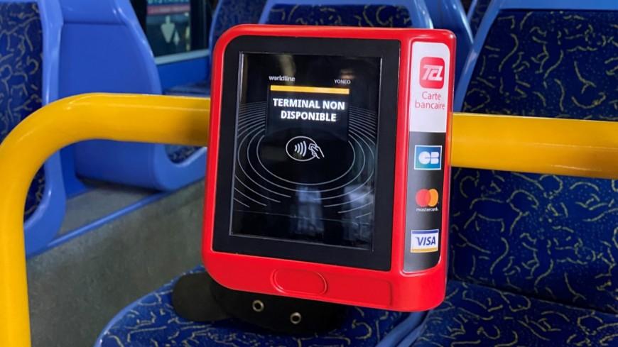 Lyon : dans les TCL, la carte bancaire sans contact remplacera bientôt le ticket