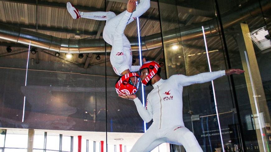 Lyon : à la rencontre de Karine Joly et Greg Crozier, champions du monde de freefly