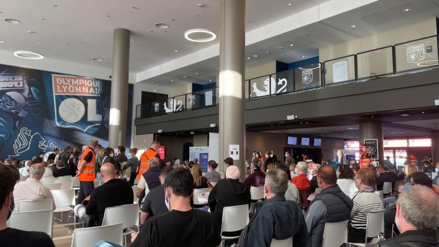 Covid-19 à Lyon : nouvelle opération de vaccination début mai au Groupama Stadium