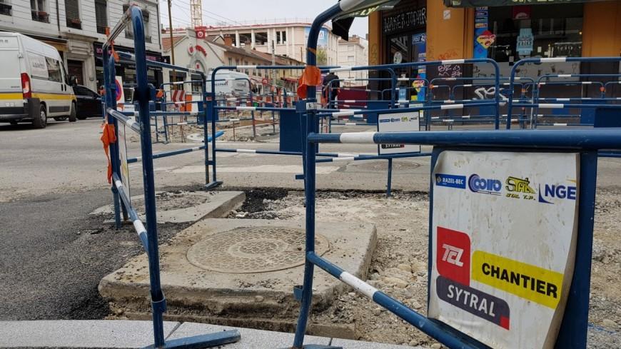 Lyon : pas de TCL le 1er mai, le SYTRAL en profite pour faire des travaux