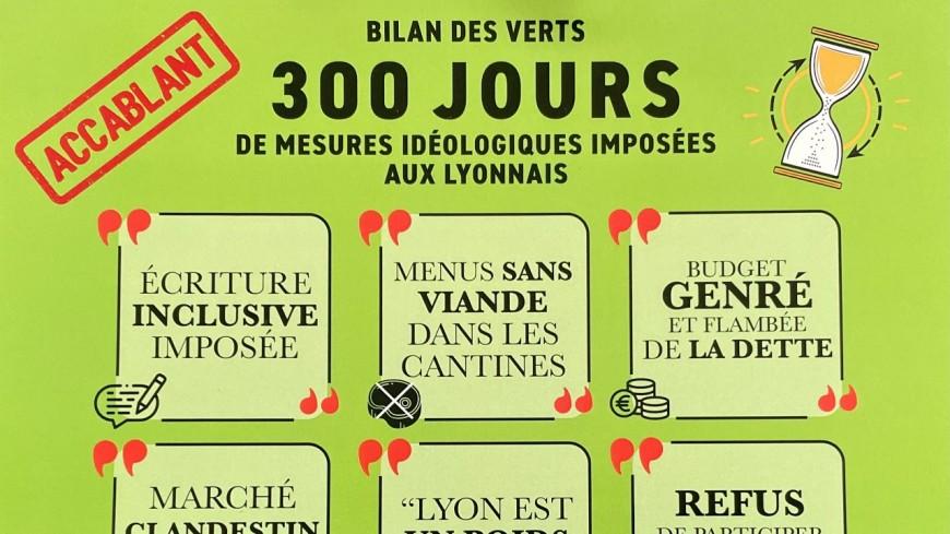 """""""Accablant"""" : Etienne Blanc (LR) fait le bilan des 300 jours de Grégory Doucet à la mairie de Lyon"""
