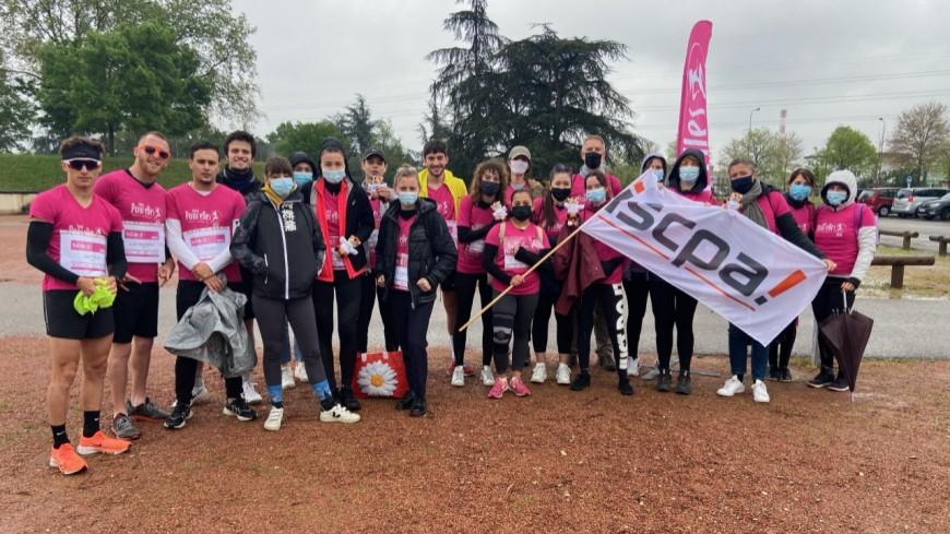 Avec Courir pour Elles, l'ISCPA Lyon fait sortir ses étudiants et les implique dans l'associatif