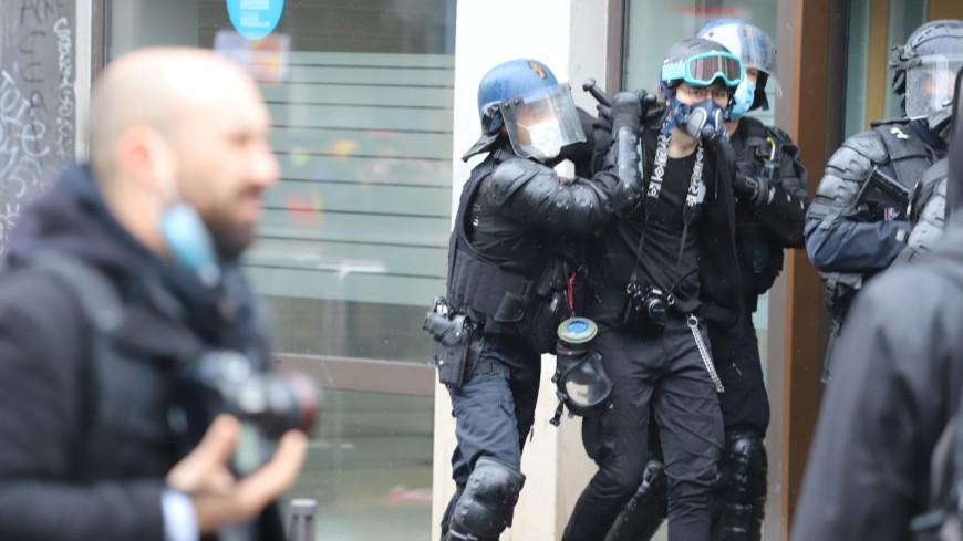 """Black blocs infiltrés dans le cortège du 1e mai à Lyon : la CGT """"ne se laissera pas impressionner par ces pratiques fascisantes"""""""